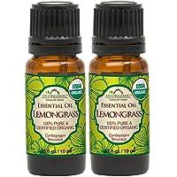 US Organic 100% Pure Lemongrass Essential Oil - USDA Certified Organic - 10 ml -...