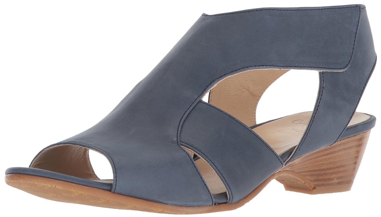 Amalfi by Rangoni Frauen Doris Offener Zeh Leger Sandalen mit Keilabsatz Blau