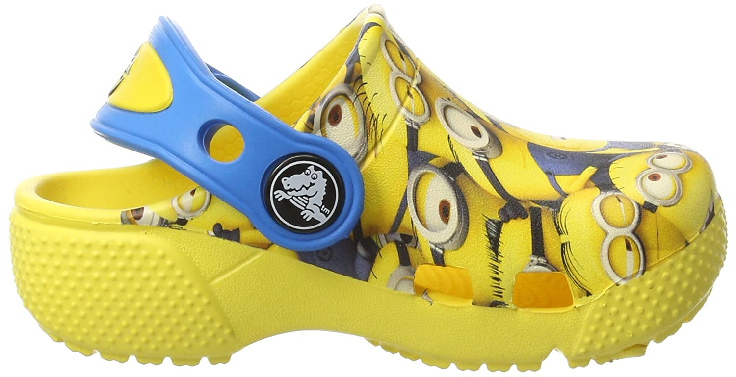 Crocs Crocksfunlab Minions Graphic Ankle-High Clogs Crocs Crocksfunlab Minions Graphic Sunshine Ankle-High Clogs 6M 204784