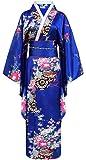 Kimono de japonesa-Disfraz para mujer, diseño de geisha talla única