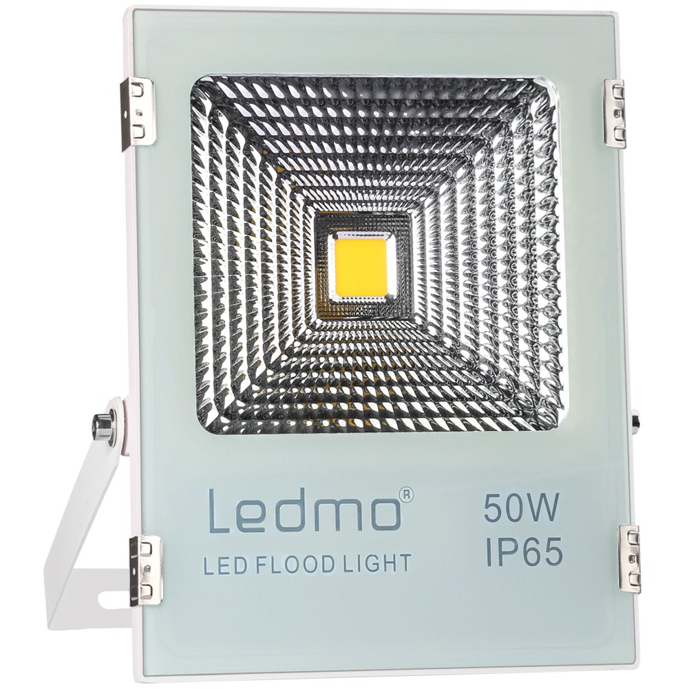 Ledmo 50w Led Flood Lights Waterproof Ip65 Light Daylight Series Driver Circuit Aka Christmas A Rather Simple White 6000k Work 4000lm 250w Halogen Equivalent Spotlight Security