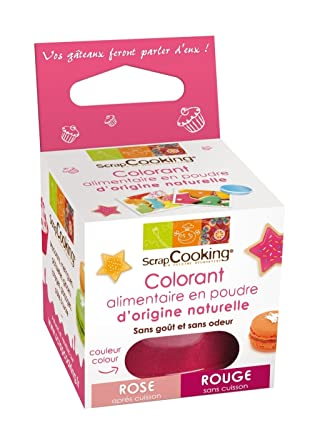 scrapcooking colorant alimentaire naturel rouge - Colorant Rouge Naturel