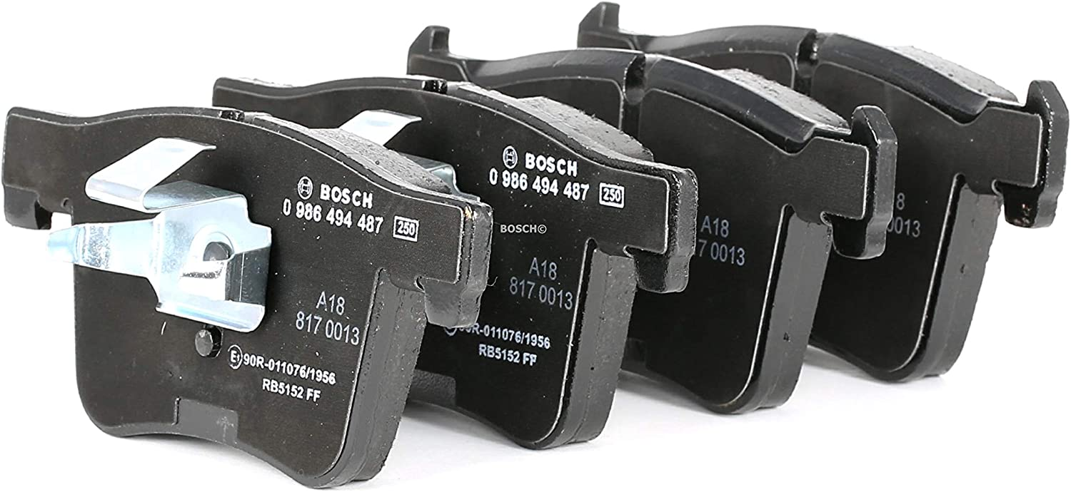 Rear Delphi Brake Pads Full Axle Braking Set Fits BMW
