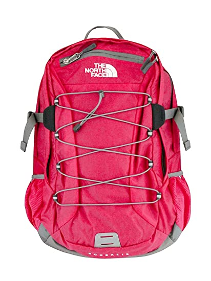 16492effb The North Face Women Classic Borealis Backpack Student School Bag Rose Red