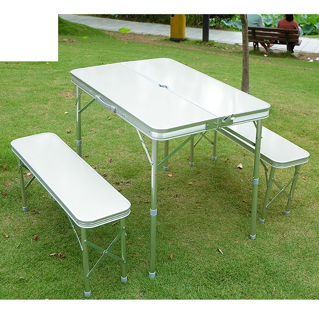 Suitcase table and chair set simple folding outdoor table and chair convenient to carry by Folding table Q (Image #7)