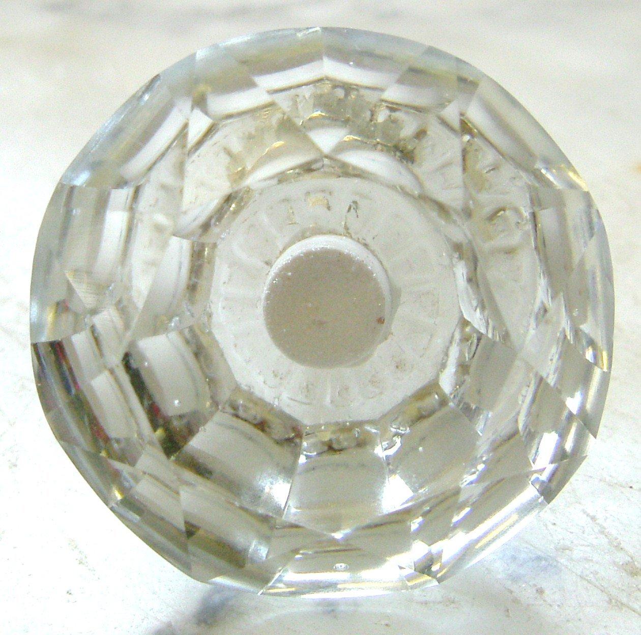 Tiradores de y muebles armario de cristal transparente grande (Pomos) Peter Sharpe