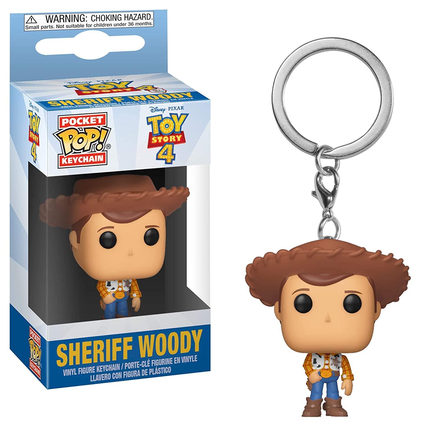 Funko Pop! Keychain: Toy Story 4 - Woody