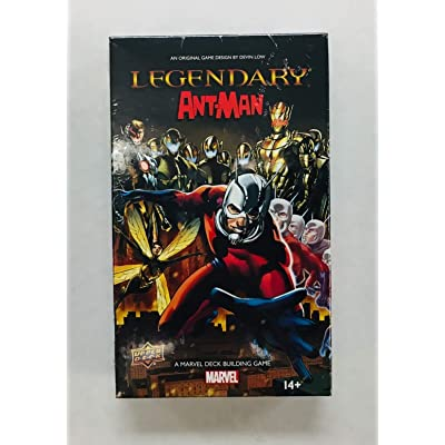 Legendary: A Marvel Deck Building Game: Ant-Man Expansion: Toys & Games
