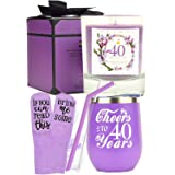 40th Birthday Gifts for Women, 40th Birthday, 40th Birthday Tumbler, 40th Birthday Decorations for Women, Gifts for 40 Year O
