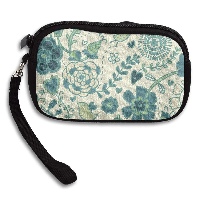 Amazon.com: Monedero verde con cremallera y bolsillo para ...