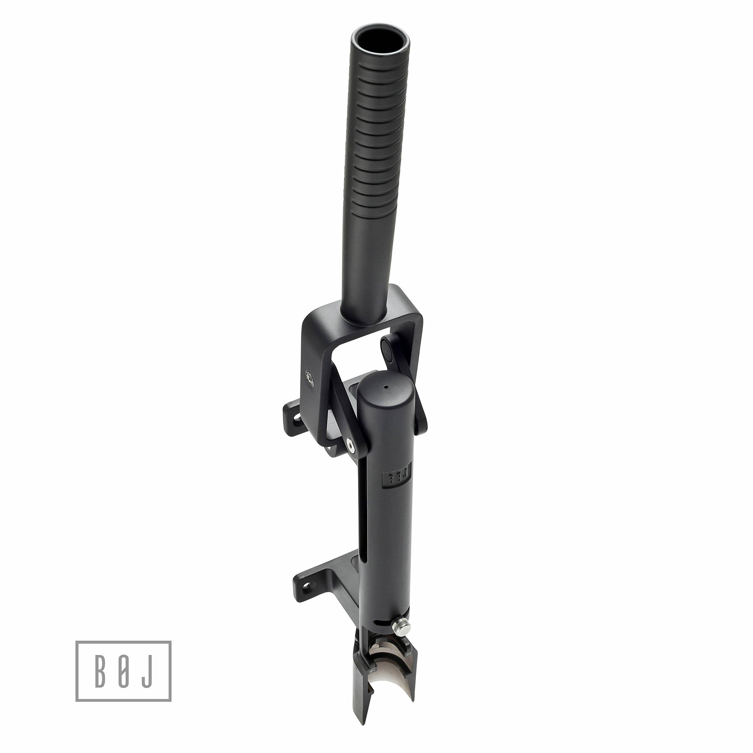 BOJ Professional Wall-mounted Corkscrew Model 110 US (Black)