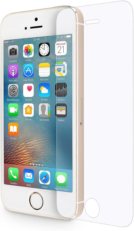Wiiuka Panzerglas Protect Für Apple Iphone 5 5s Computer Zubehör