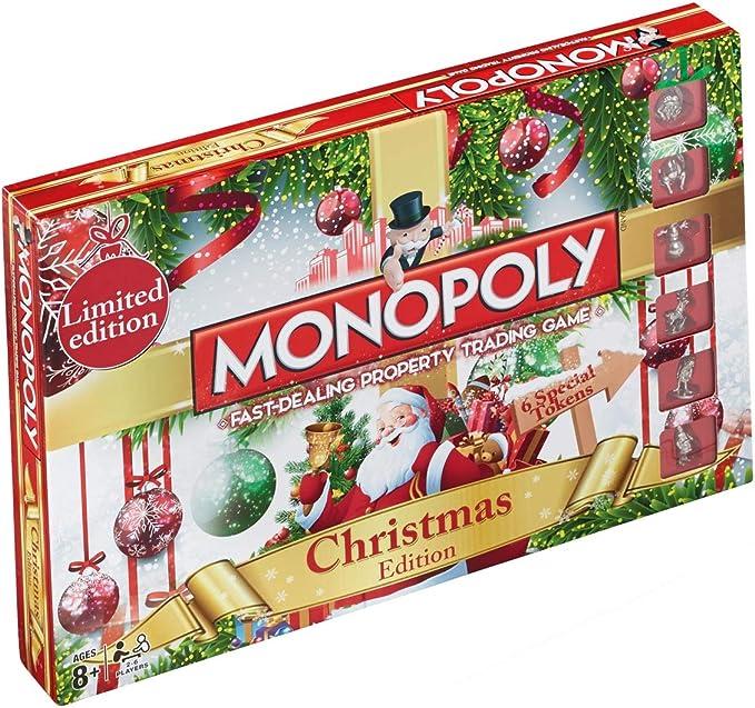 Limited Edition Christmas Monopoly by Christmas: Amazon.es: Juguetes y juegos