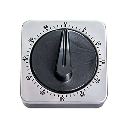 Merveilleux Mechanical Kitchen Timer, Kisstaker Stainless Steel 60 Minutes Timing With  Alarm For Cooking And Barbecue