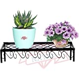 NAYAB Nesting Plant Stands - Indoor/Outdoor Step Style Garden Flower Pot Holder Pot Rack Shelf (1 Piece)