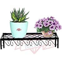 NAYAB Nesting Plant Stands - Indoor/Outdoor Step Style Garden Flower Pot Holder Pot Rack Shelf