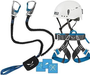 Klettersteigset Lacd : Klettersteigset lacd pro evo red kletter helm camp titan white