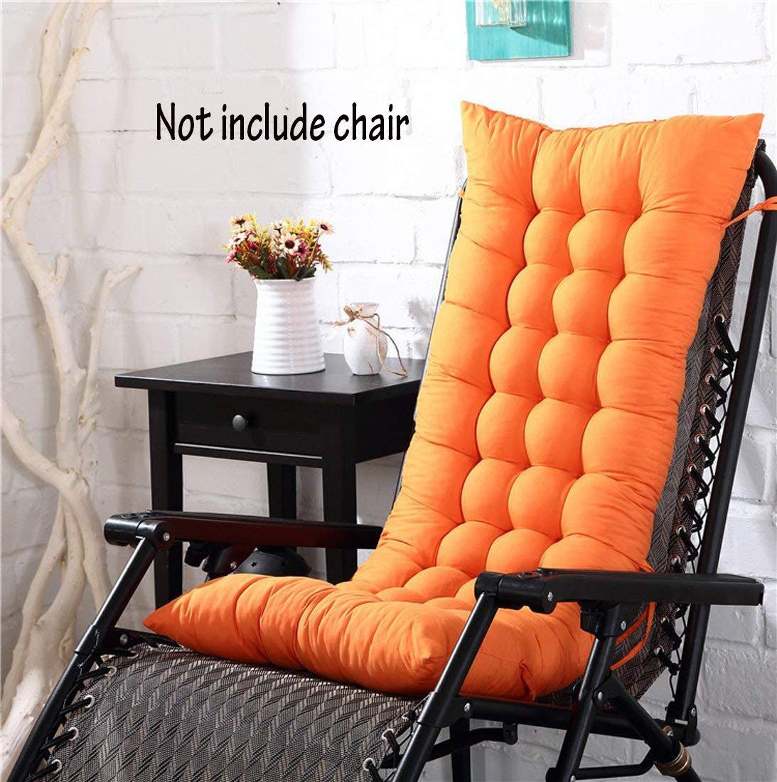 Cojín para silla de respaldo alto, para casa, oficina, viscoelástico, con botones, Verde, 128*48*8cm