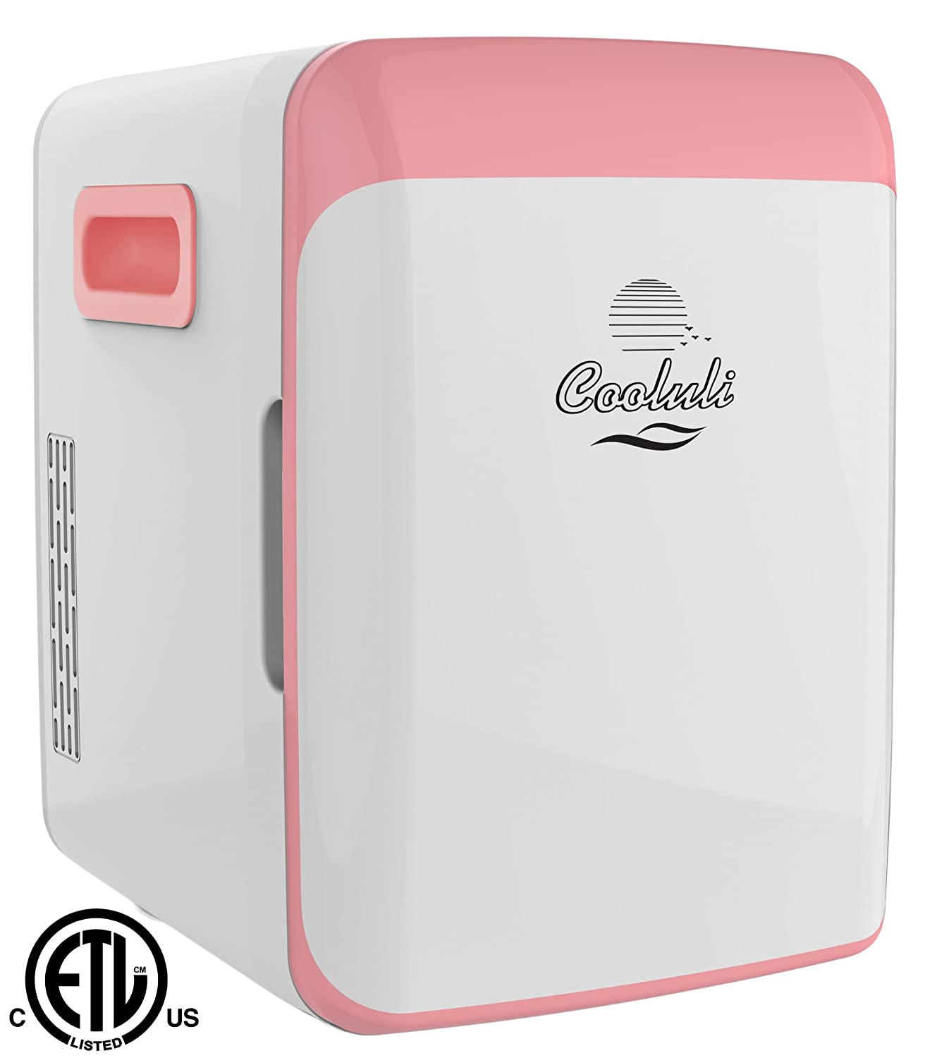 Cooluli Classic 15-liter Compact Cooler/Warmer Mini Fridge for Cars, Road Trips, Homes, Offices and Dorms