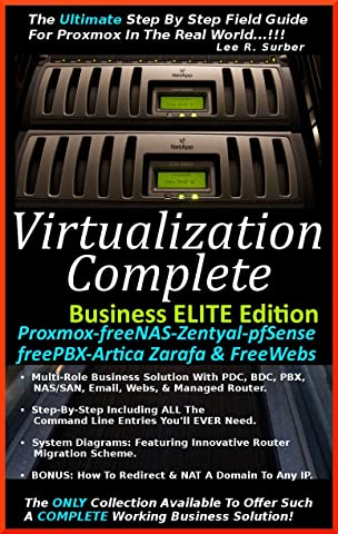 Amazon com: Virtualization Complete: Business ELITE Edition (Proxmox