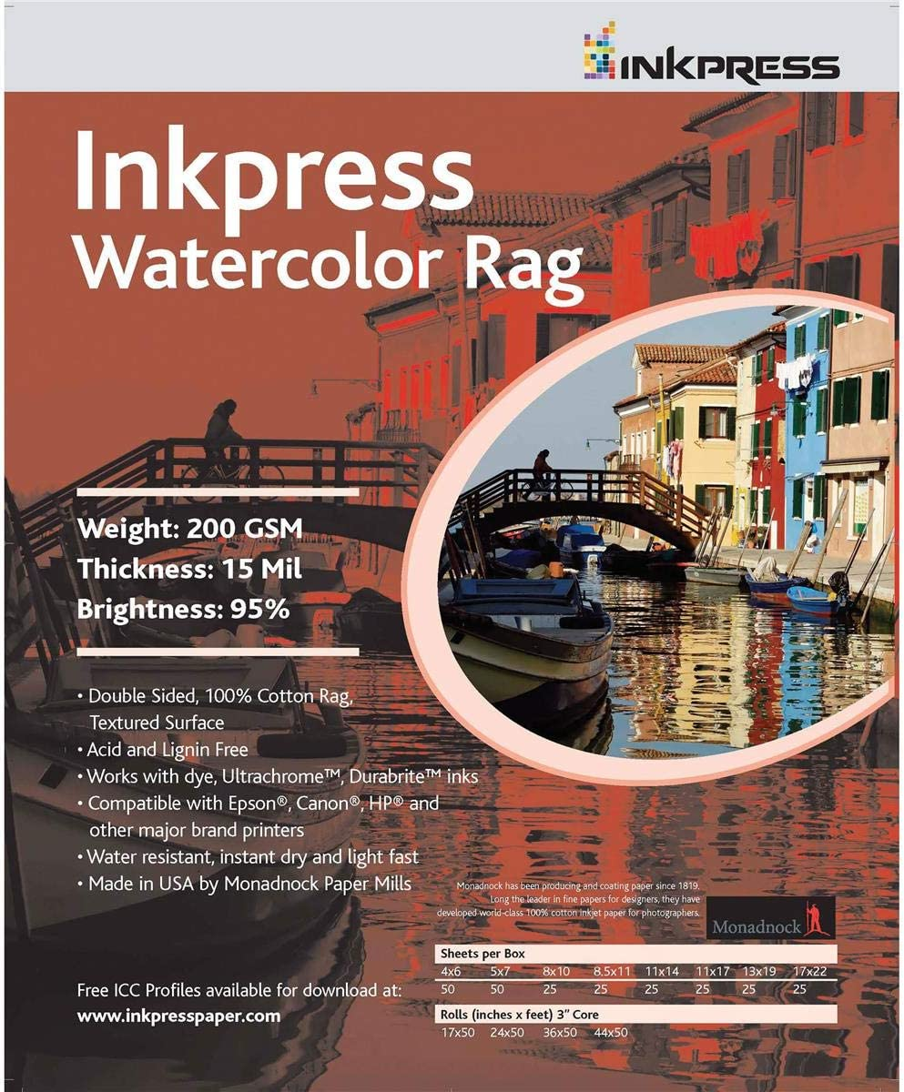 100 cotton rag acid and lignin free archival paper