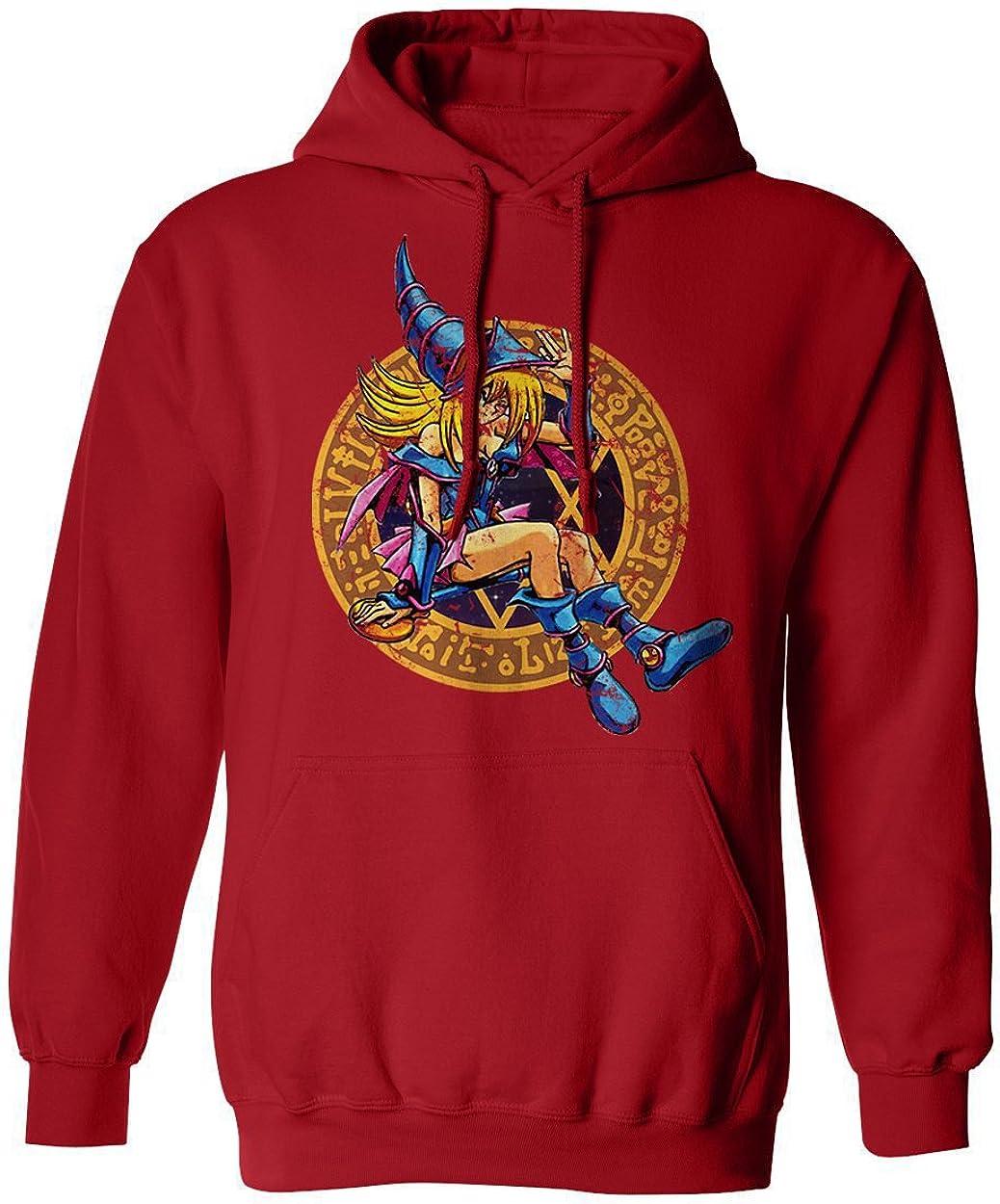 RIVEBELLA New Novelty Tee Dark Magician female Mens Hoodie Hooded Sweatshirt