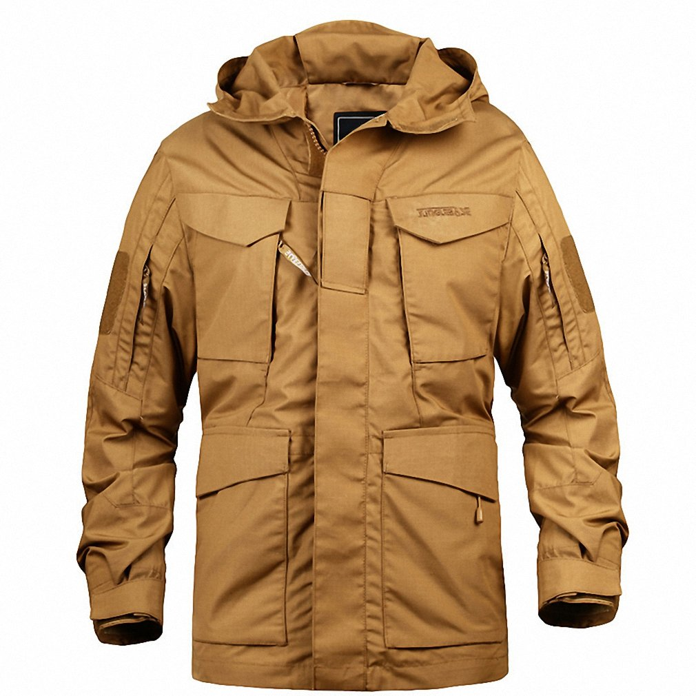 Amazon.com: M65 Military Camouflage Male clothing US Army Tactical Mens Windbreaker Hoodie Field Jacket Outwear casaco masculino: Clothing