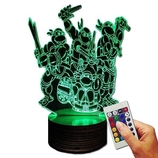 TMNT - Teenage Mutant Ninja Turtles Deko lámpara WE ARE ...