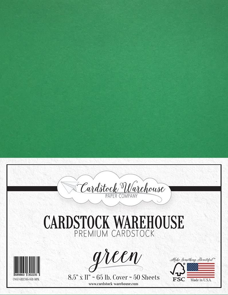 Orange Cardstock Paper 65 lb 8.5 x 11 inch - 50 Sheets Premium Cover from Cardstock Warehouse