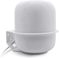 Wall Mount for Apple HomePod, ALLICAVER Sturdy Metal Made Mount Stand Holder for Apple HomePod. (White)