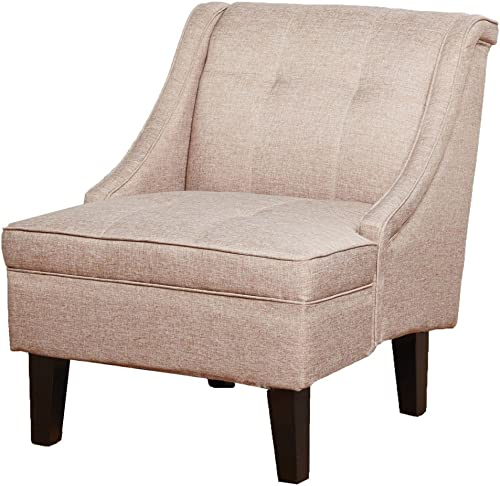 Gold Sparrow Kansas Accent Chair, One Size, Camel