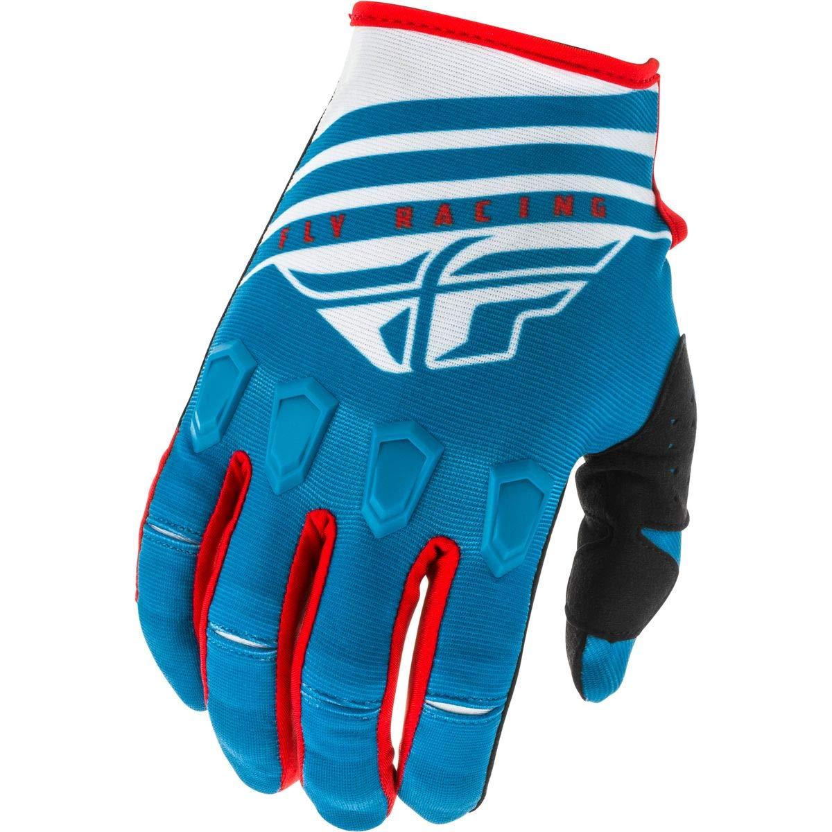 Large Black//Grey//HI-VIZ Fly Racing 2020 Kinetic Gloves K220