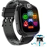 """Kids Game Smart Watch Phone - 1.54"""" Touch Screen Game Smartwatches with [1GB Micro SD Card] Call SOS Camera 7 Games…"""