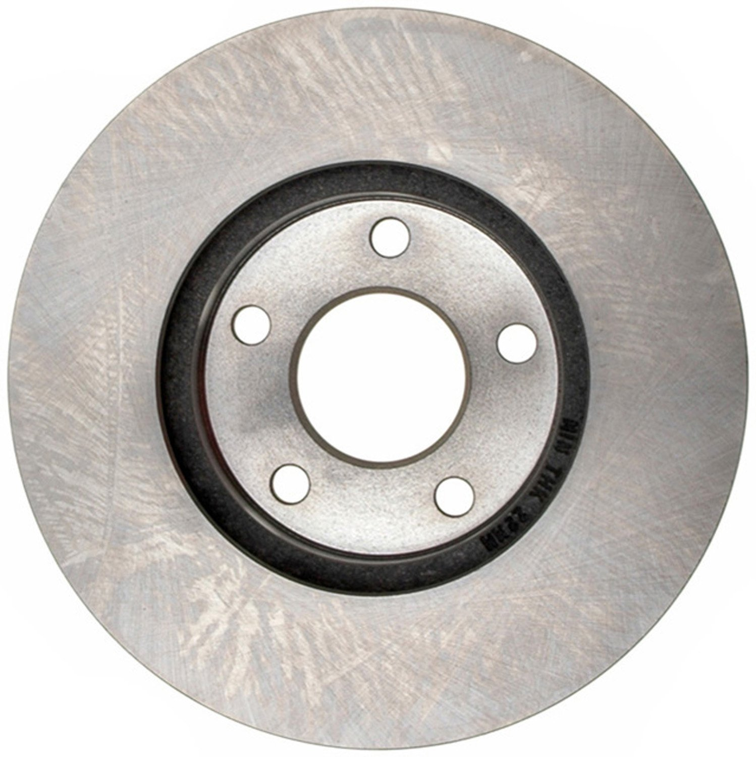 ACDelco 18A2458A Advantage Non-Coated Front Disc Brake Rotor