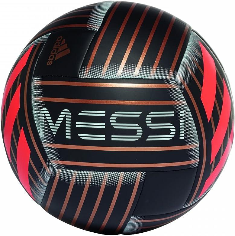 adidas Messi Q1 Balón, Hombre, (Negro/ormetr/Rojsol), 4: Amazon.es ...