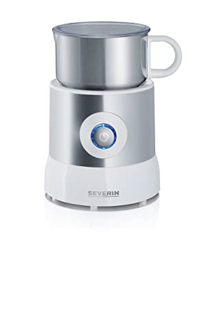 Severin Induction Milk Frother Silver, White Good Ideas