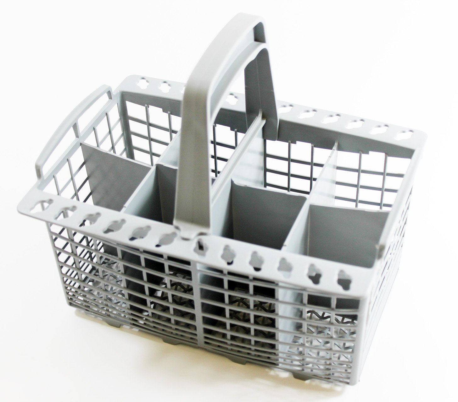 Universal Dishwasher Cutlery Basket By SPAREGETTI® To fit Bosch- Hotpoint- Whirlpool- Neff-Siemens-Smeg -Carrera -Eurotech- Homark- Lendi- Powerpoint- Servis- White Westinghouse- Baumatic-Tecnik- CDA- Siemens- Hoover-Dedietrich- Brandt- Gorenje- Indesit- C