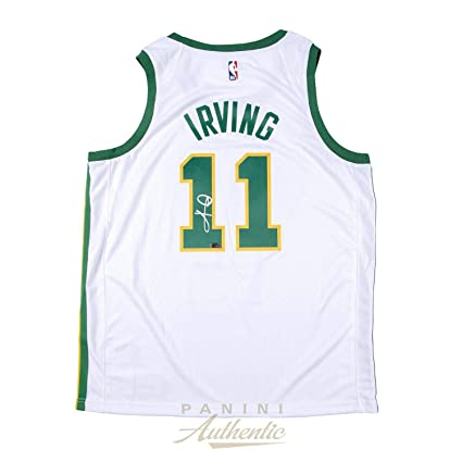 Kyrie Irving Signed Jersey - Nike City Edition Swingman ~Open Edition Item~  - Panini 56f8afdb5