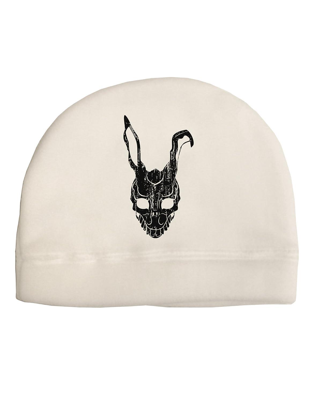 b54f57b9f Amazon.com: TooLoud Scary Bunny Face Black Distressed Adult Fleece ...