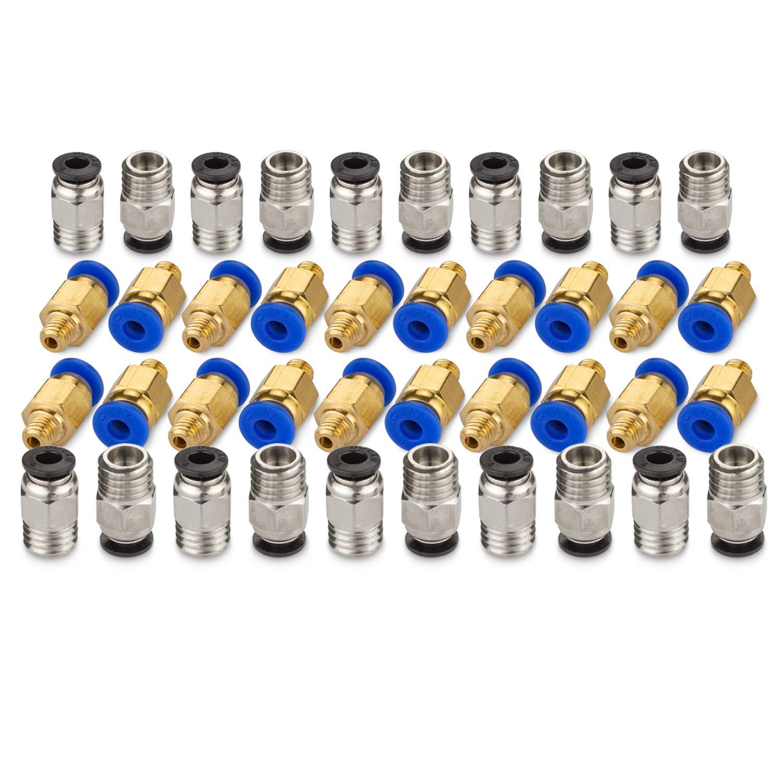 Starvast PC4-M6 - Empalme rápido con 20 piezas de conexión ...