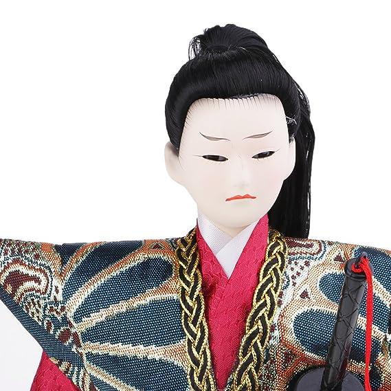 perfk Muñeca Japonesa Estilo Creativo de Guerrero de Japonés ...