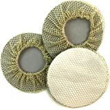 BUN SKINS Reusable Bun Hair Nets for Dancers (3 Pack)