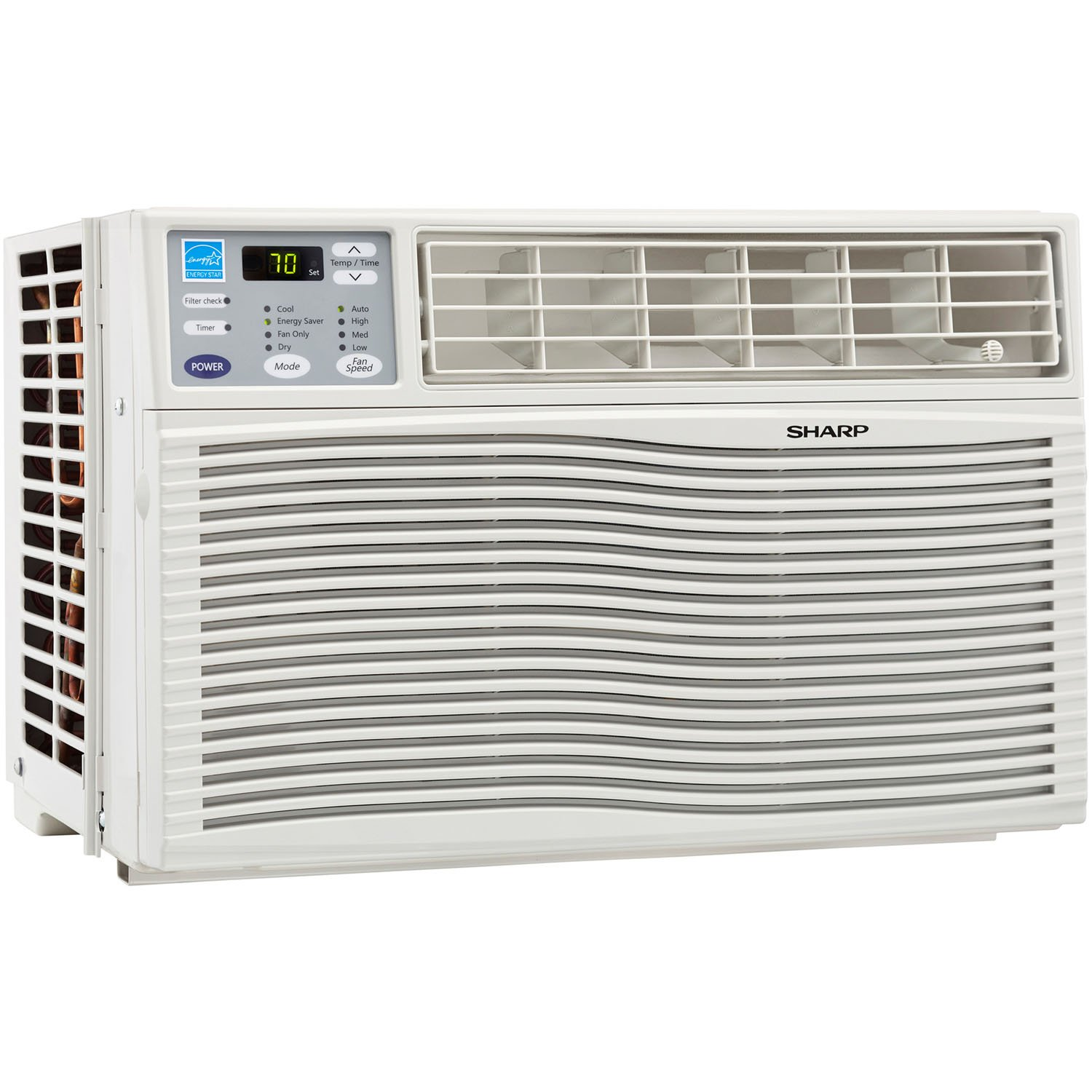 SHARP AFQ80VX Energy Star 8000 BTU Window-Mounted Air Conditioner with Rest Easy Remote Control, 110-volt: Amazon.es: Hogar