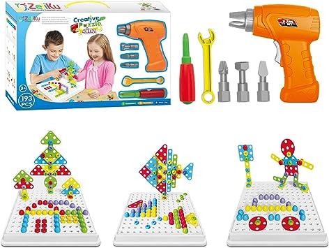 Conjunto de juguetes educativo y taladro de construcción - 193 ...