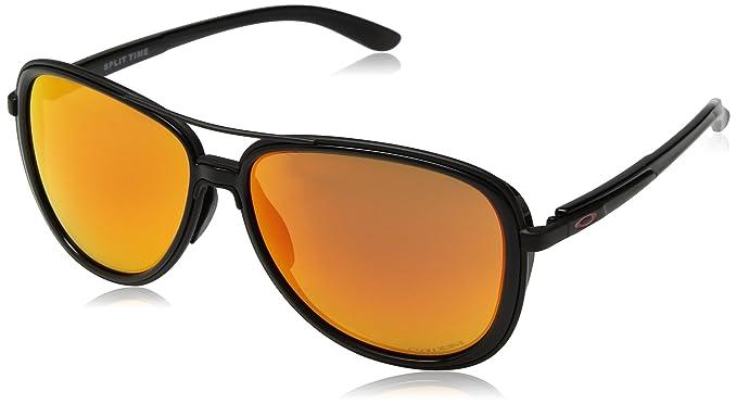 Oakley Split Time 412904 58, Gafas de Sol para Mujer, Negro (Matte Black