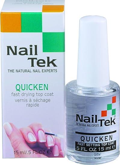 Nailtek Quicken Fast Drying Top Coat 05 Fluid Ounce