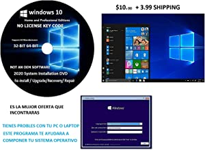 WINDOWS 10 Pro / home 32-64 bit RECOVERY FIX REINSTALL REPAIR REPLACE BOOT REBOOT RECOVERY INSTALL RESTORE TO FACTORY compatible with microsoft windows