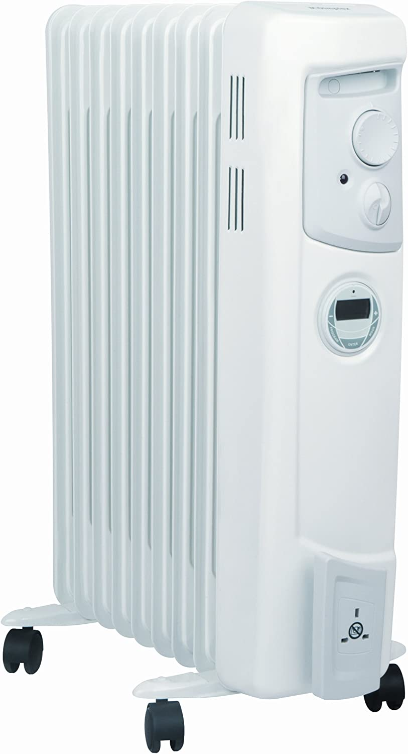 Dimplex 2 KW OFC2000Ti Electric Oil Filled Radiator Heater with Timer