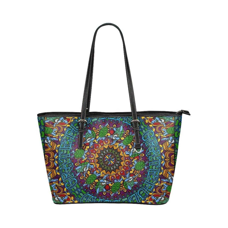 Grateful Dead Custom Leather Tote Bag/Handbag/Shoulder Bag for Women Girls