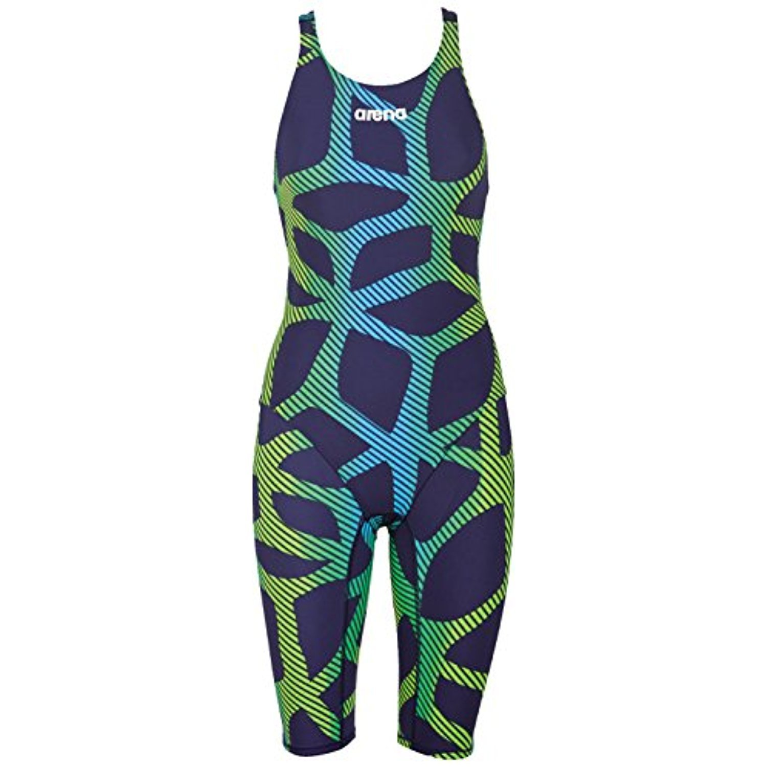 arena Powerskin ST Kneeskin Limited Edition Navy Flo Green 32